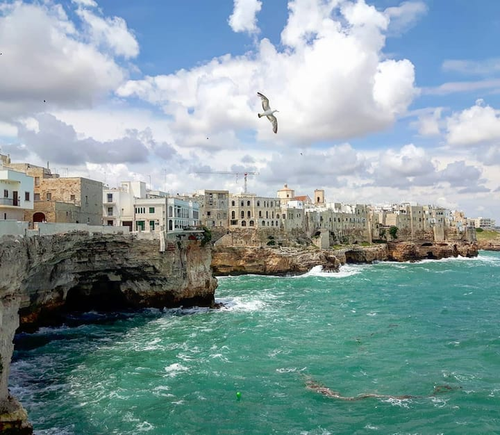 cliffs of Polignano