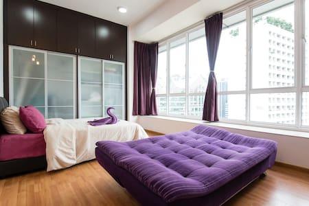 #02 Cozy Home near KLCC, KL Tower & Pavillion - 吉隆坡