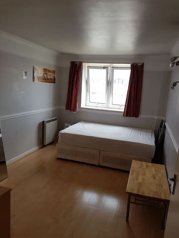 Bright & big double room available