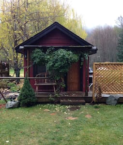 Cozy self contained cabin - Pemberton