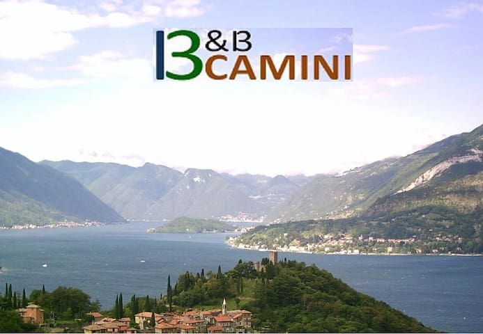 on Como Lake - a panoramic B&B close to Varenna