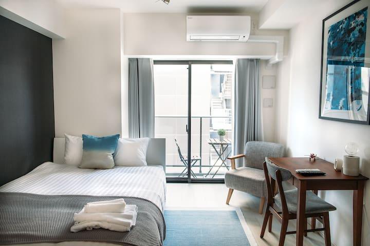 Modern Designer Flat in Ningyocho/Nihonbashi