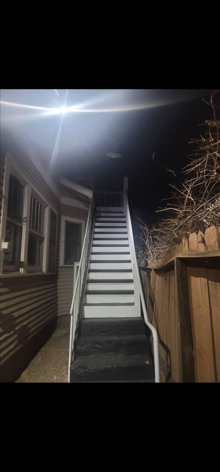 Upstairs little loft