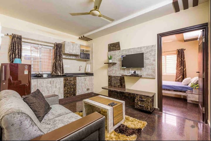 🏛J K COMFORTS18 Fully Furnished Premium 1BHK Flats