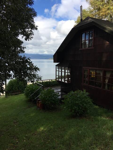 Arriendo de cabaña a orillas del Lago Ranco
