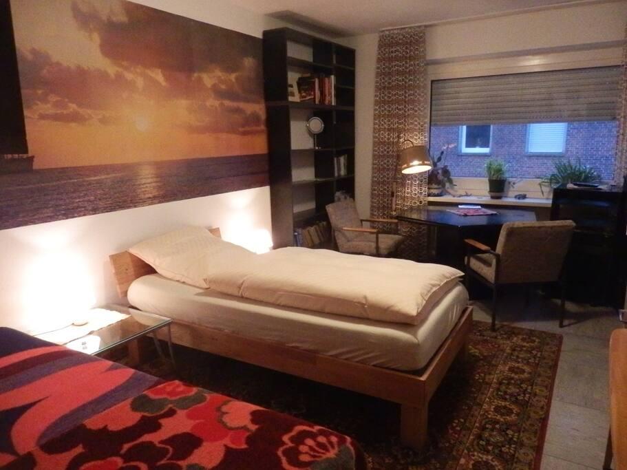 Einzel- oder Zweibettzimmer