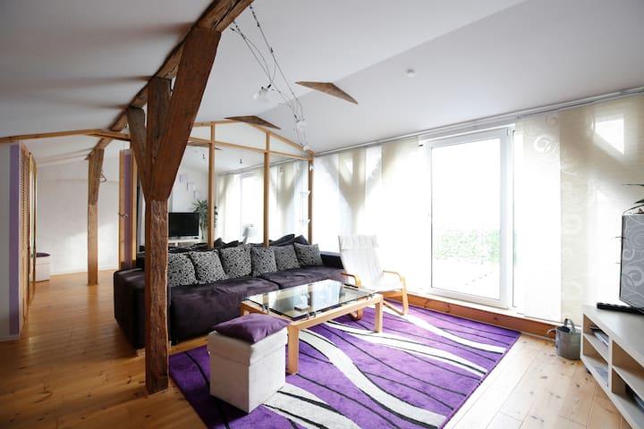 Schönes Appartement Dachgeschoss - Rostock - Leilighet