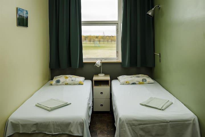 Hostel Skogar - Twin private room