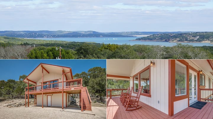 Amazing Canyon Lake Views, Expansive 2-Story Deck!