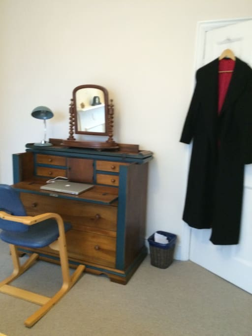 Work desk and dressing table with use of draws