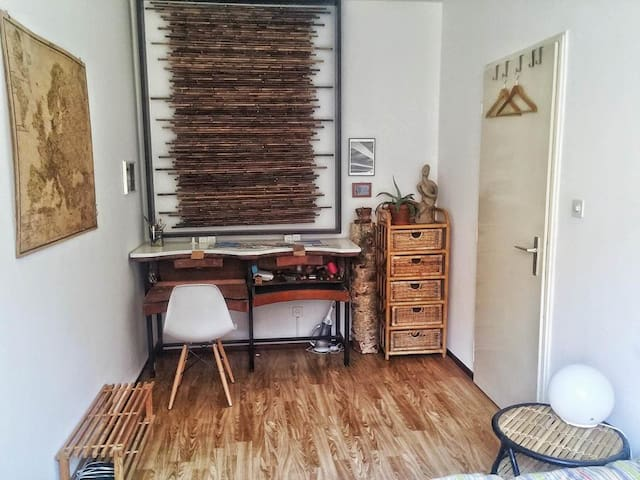 Small central room in a quiet area - Lugano - Huoneisto