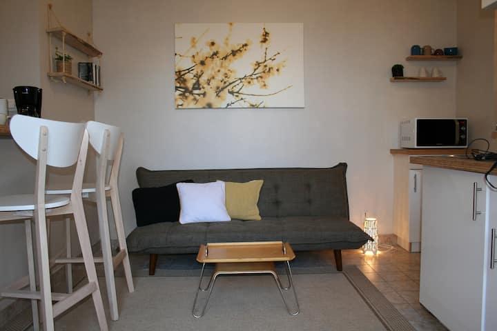 Studio en résidence calme proche Nantes aéroport