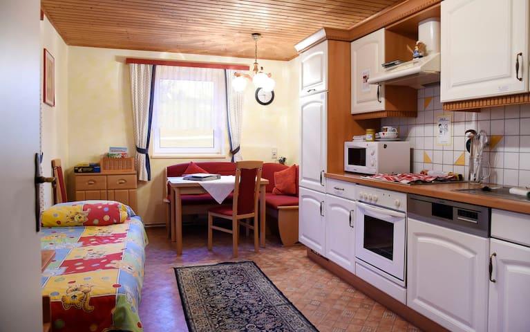 "Tscharnighof  Holiday apartment ""Mohnblume"""