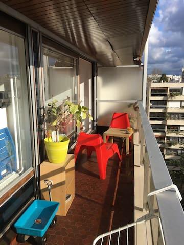 Balcon au soleil