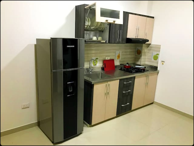 Apartamento amoblado. - S6