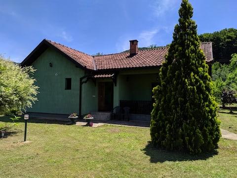 Klidné a útulné oázy v blízkosti Drina River House
