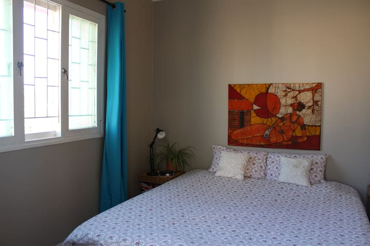Peaceful furnished appartment-all inclusive