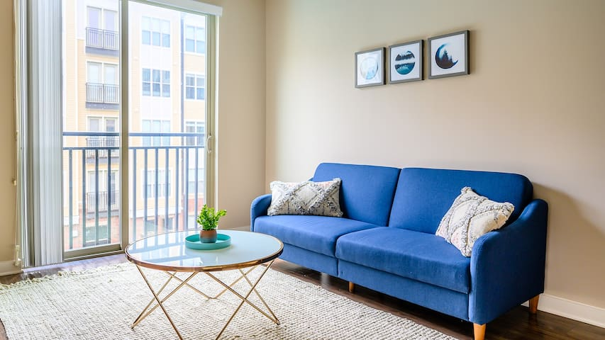 1BR Downtown Apartment with Parking