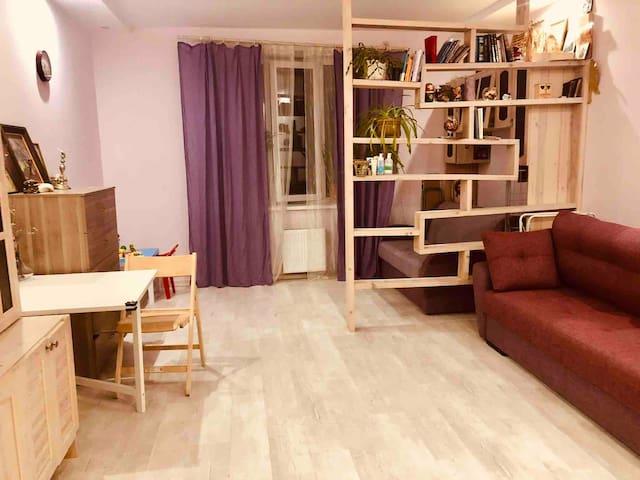 Квартира в Звенигороде со всеми удобствами