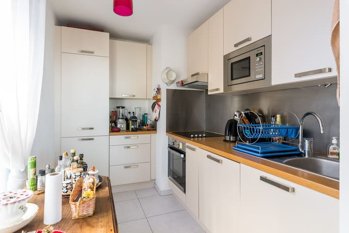 Bel appartement  en bord de Saône - Lyon - Apartment