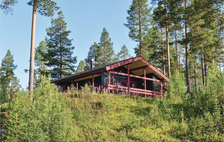 Awesome home in Lofsdalen with Sauna and 3 Bedrooms