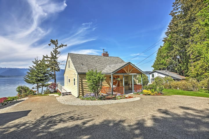 4BR Seabeck House w/Views of Olympic National Park