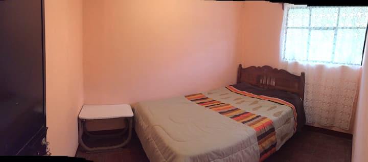 Habitación sencilla para dos personas en Xichú