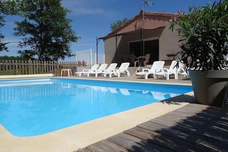 Maison avec piscine privée - Saint-Alban-Auriolles - Haus