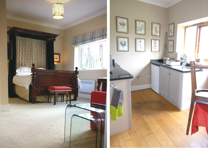 We built the annexe in 2016 and added the kitchen to make a quiet, contained apartment away from the main part of the house we live in.  Recently the bathroom and kitchen have had a fresh layer of paint.