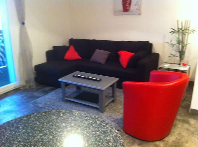 Coquet appartement fonctionnel idéalement situé.