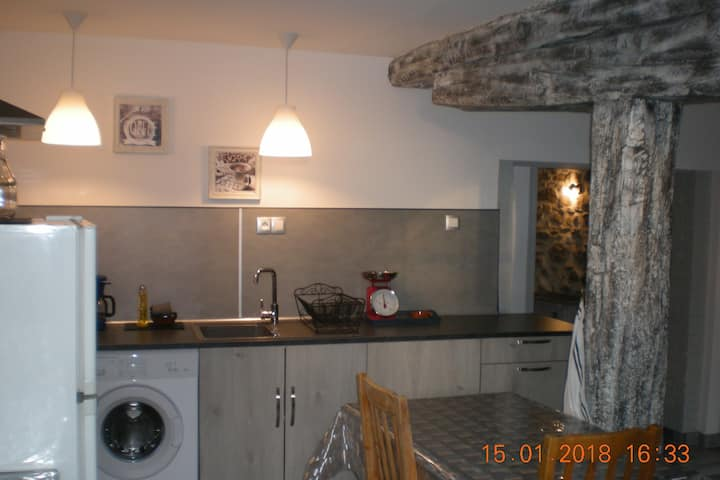 Appartement dans maison de village