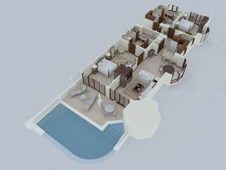 The Crane Barbados - Apartment Layout