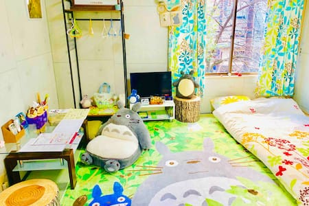 RiverView TOTORO Room Central Kyoto Gion 京都高瀬川 桜
