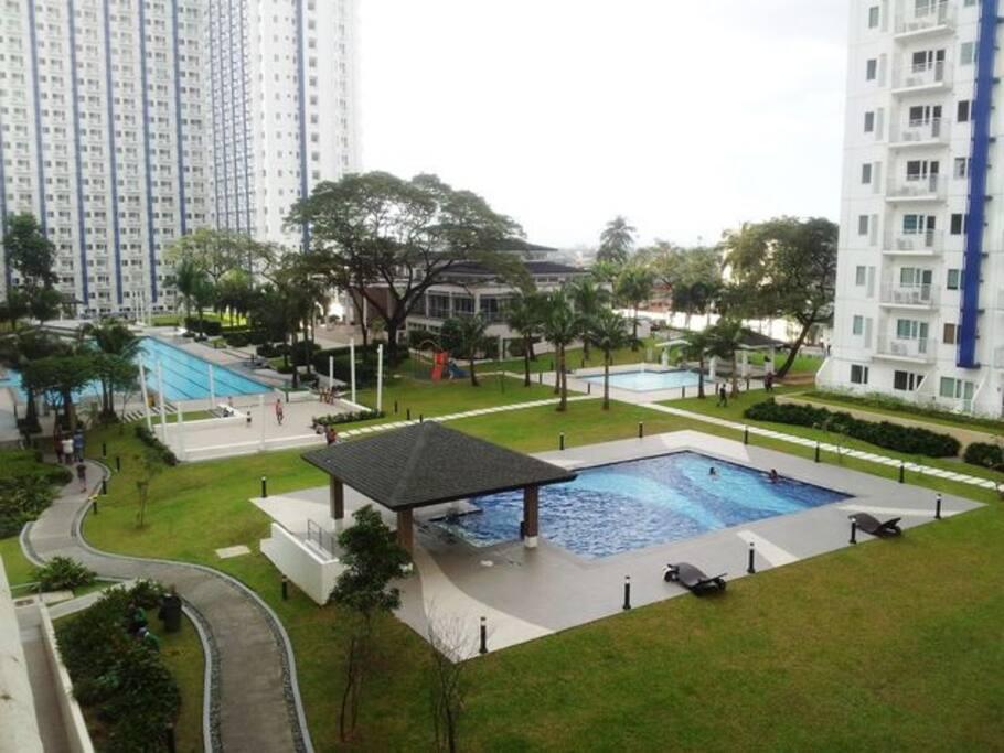 Grass Residences Tower 3 1br Unit W Dslwifi Condominiums For Rent In Quezon City Metro Manila