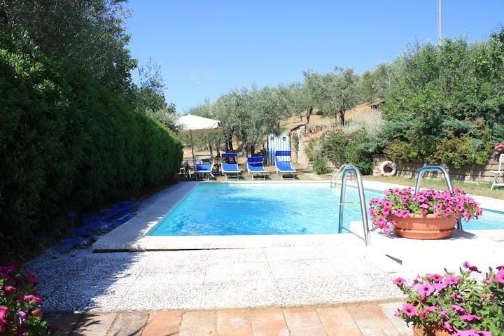Armonie di villa Piera, relax, piscina, cortesia!