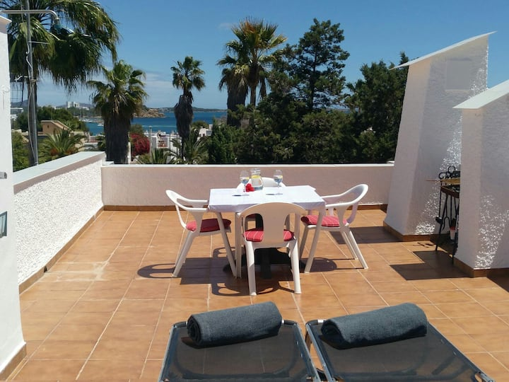 Duplex with roofterrace in Siesta