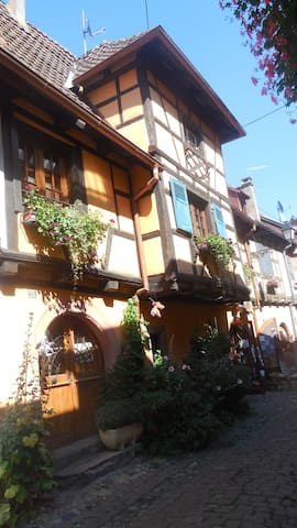 gîte de charme sur les remparts - Eguisheim - Apartment