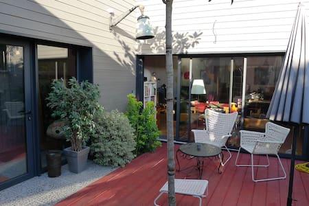 Maison d'architecte avec patio - 卡昂 - 独立屋