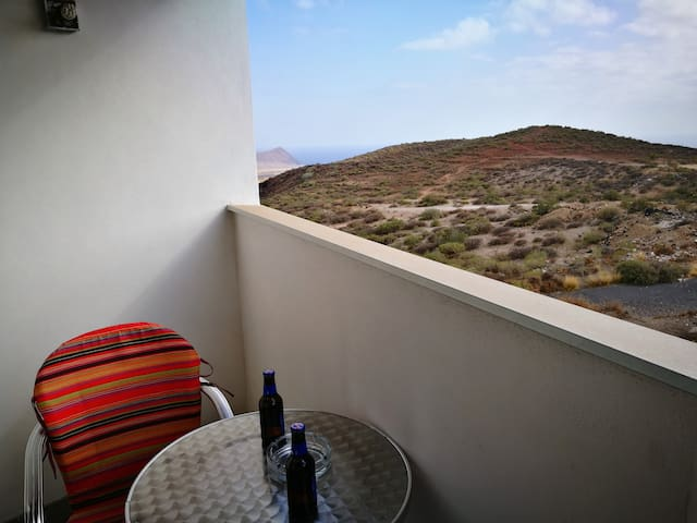 Red Mountain View with Terrace and Wifi