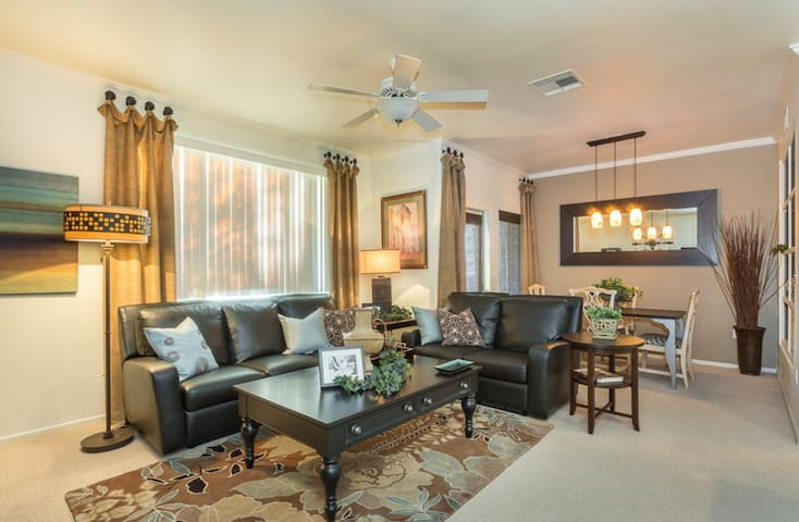 Spacious, professionally decorated Foothills condo
