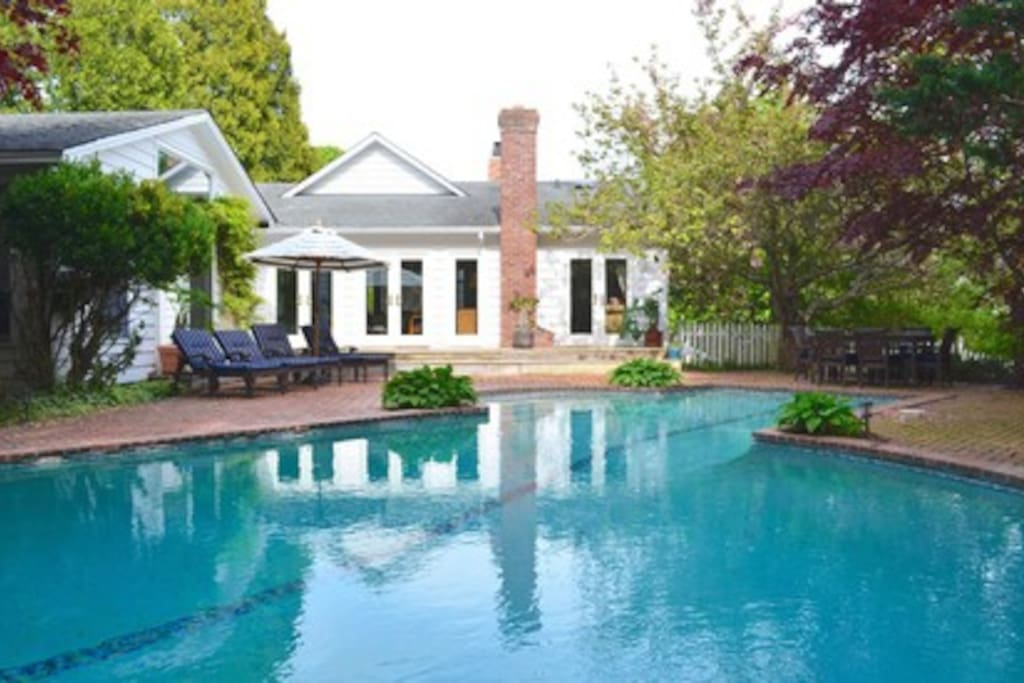 Southampton Estate Area Home Yard Pool Area Houses For Rent In Southampton New York