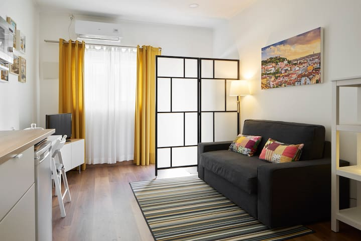 ❤ STUDIO 1 ❤ 6 min from subway & shopping district