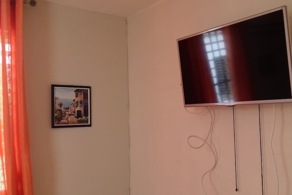 Tv con cable.