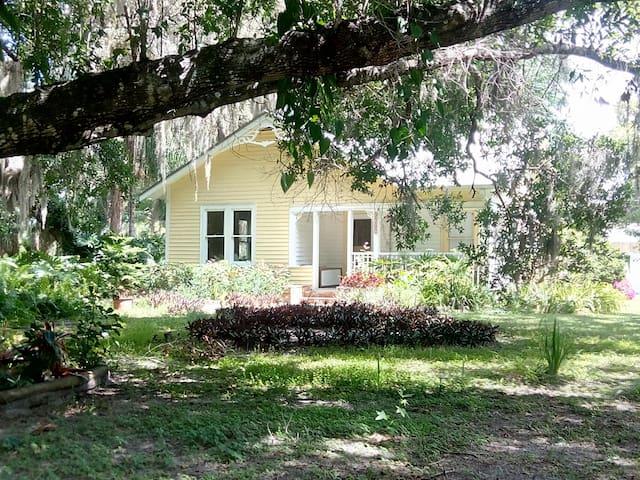 Charming vintage home in tropical atmosphere