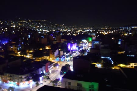 Laureles... Best views in town...14th floor Apt. - Medellín - Leilighet