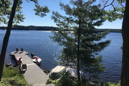 Charming cottage on Lake Muskoka with internet