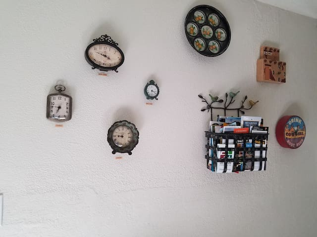 Clock collection...what's your time zone?
