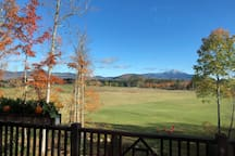 View of Whiteface and Sentinel Range from Deck