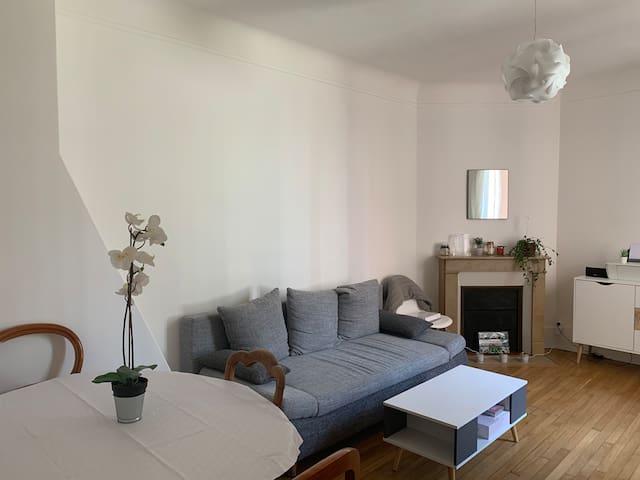 Beautiful living room. Pièce à vivre.