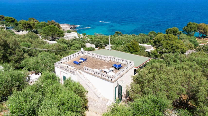 Whole villa with two apartments and wonderful sea view (exclusive use)